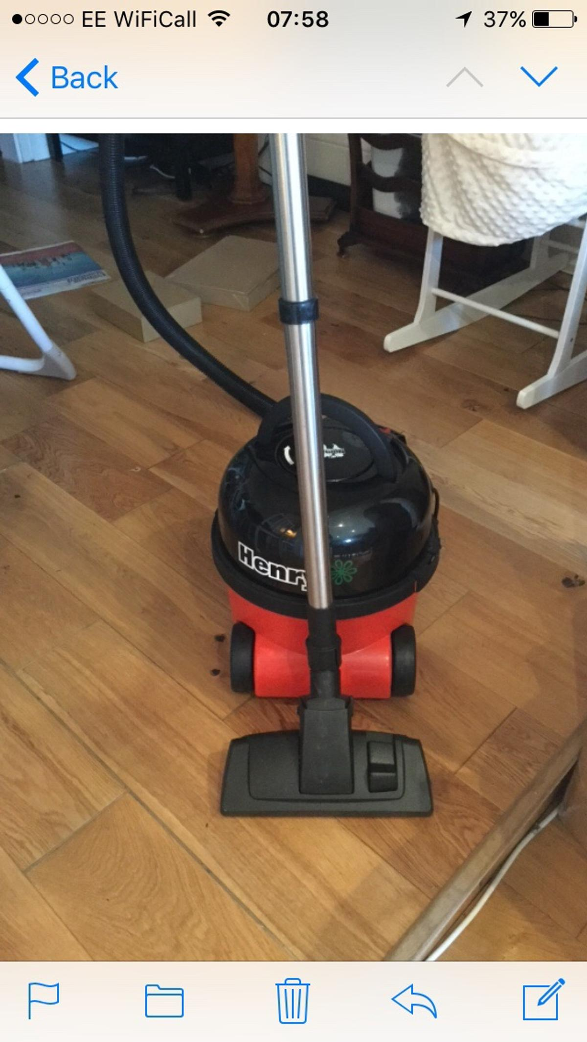 Numatic Henry A1 Bagged Cylinder Vacuum