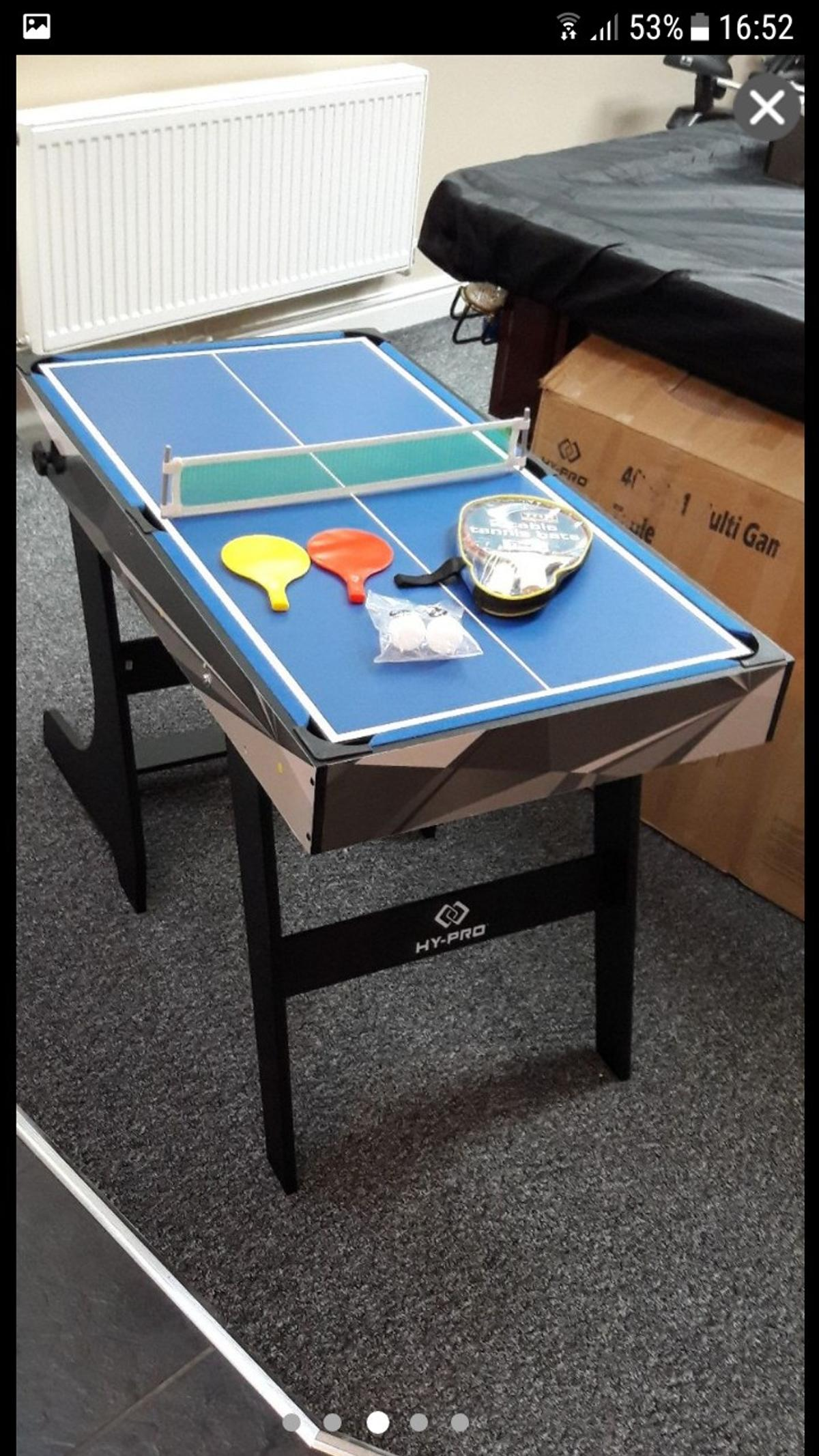 - 4 IN 1 4FT FOLDING MULTI GAMES TABLE In M41 Trafford For £45.00