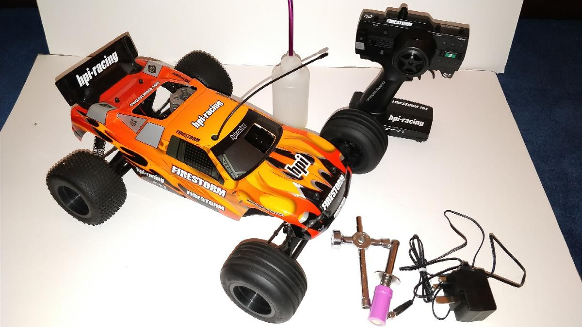 HPI-FireStorm 10T RC Nitro Truck in CR4 London for £80 00