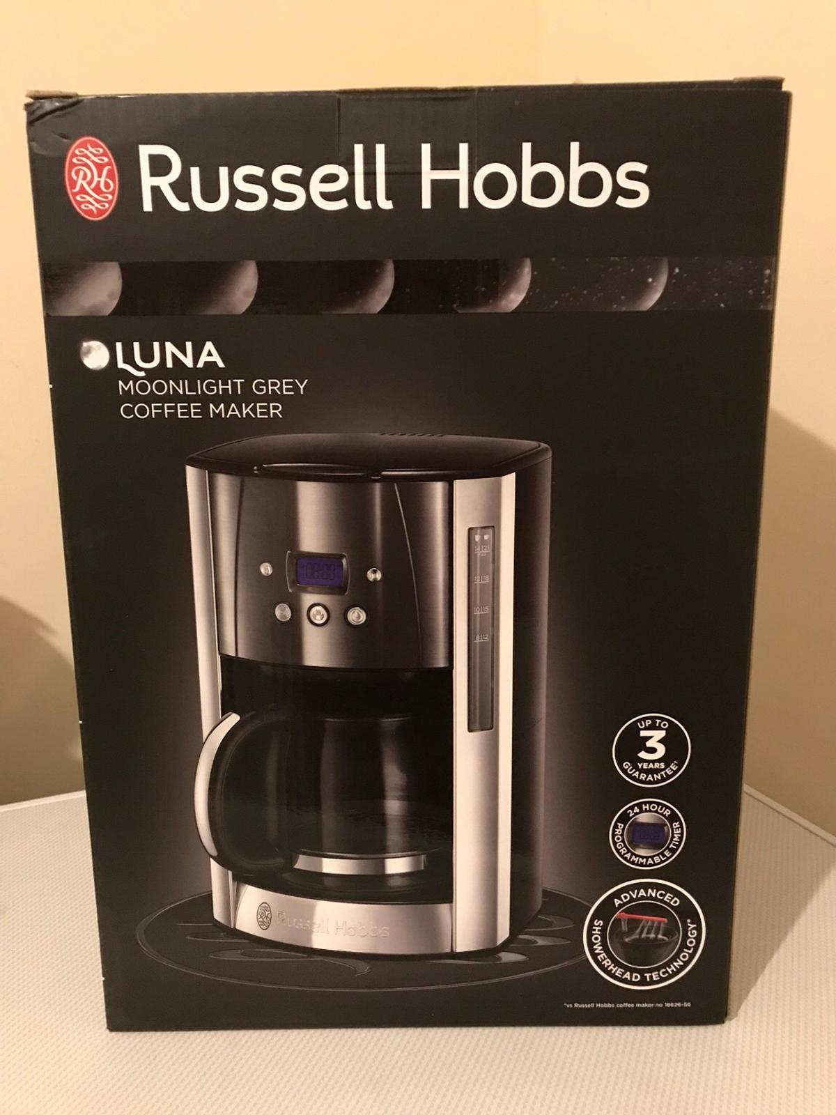 Russell hobbs Luna coffee machine