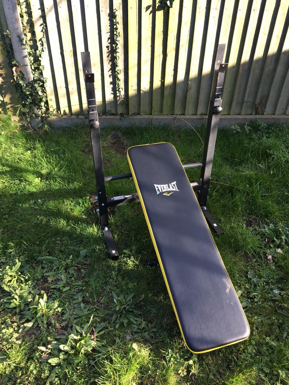 Squat Rack And Weight Bench In Po20 Chichester For 1 00 For Sale