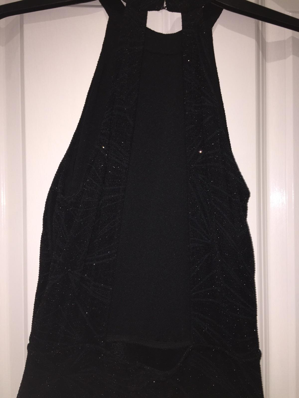 b3e674ac9373a Black sparkly high neck dress in CO4 Colchester for £15.00 for sale ...