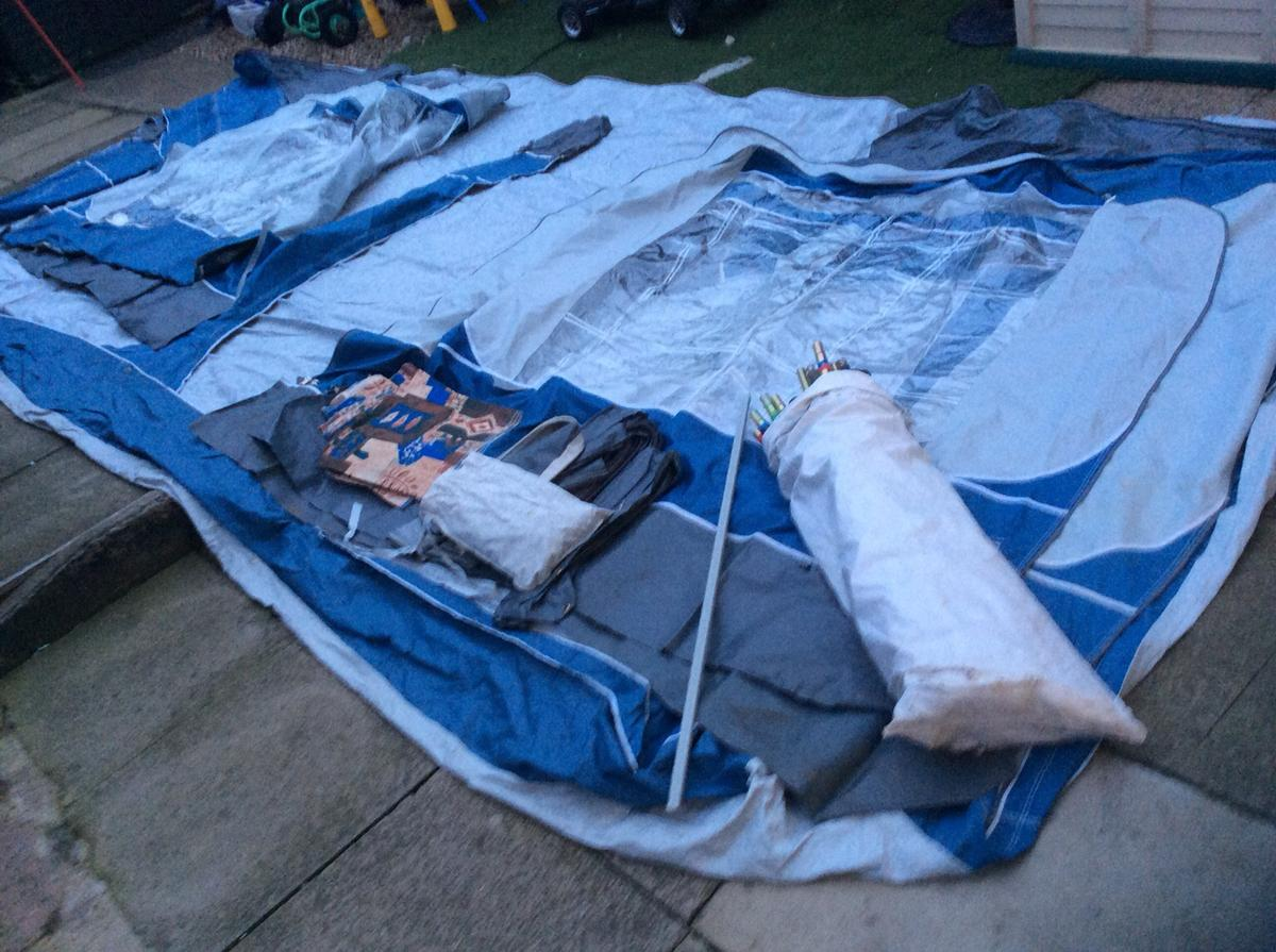Pyramid Orion awning size 1050 cm in TS23 Billingham for £ ...
