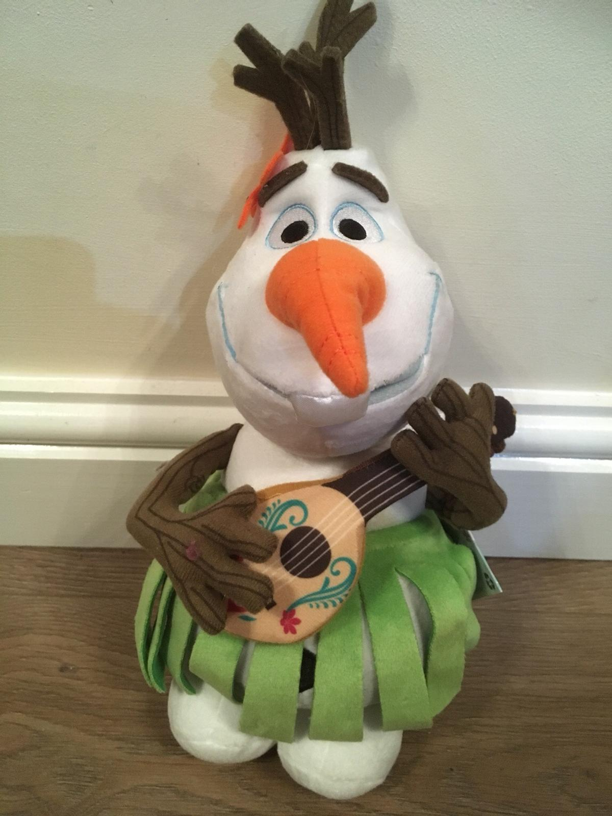 """Disney Store Exclusive Large Olaf Plush Soft Toy 16/"""" Excellent Condition"""