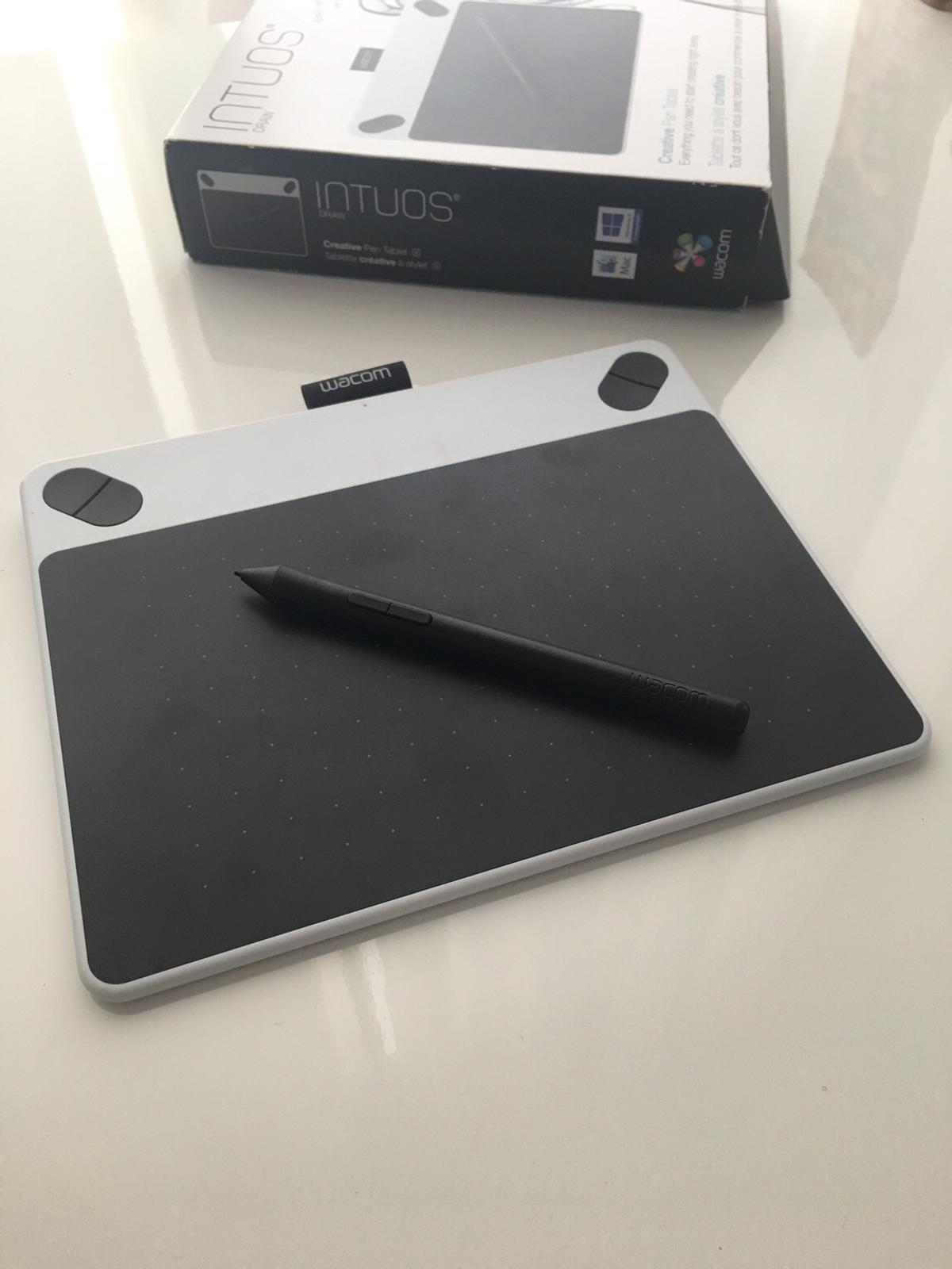 Wacom Intuos Draw Pen and Tablet in White