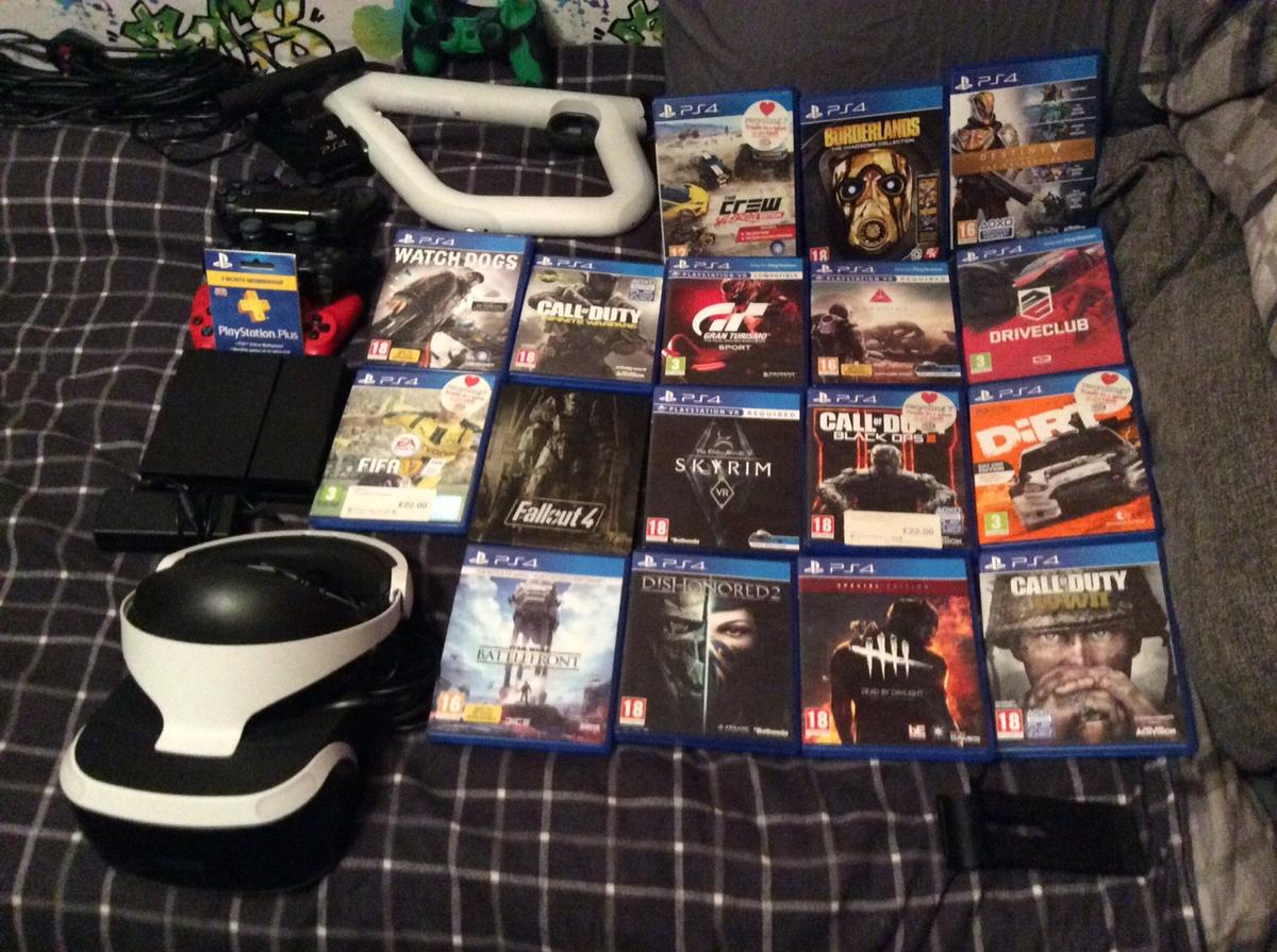 Ultimate PS4 bundle in CH1 Chester for £750 00 for sale - Shpock