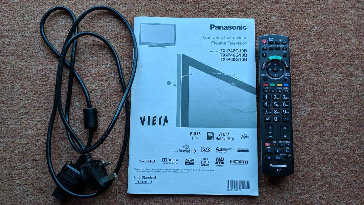 Panasonic Viera 50 inch plasma TV in for £300 00 for sale