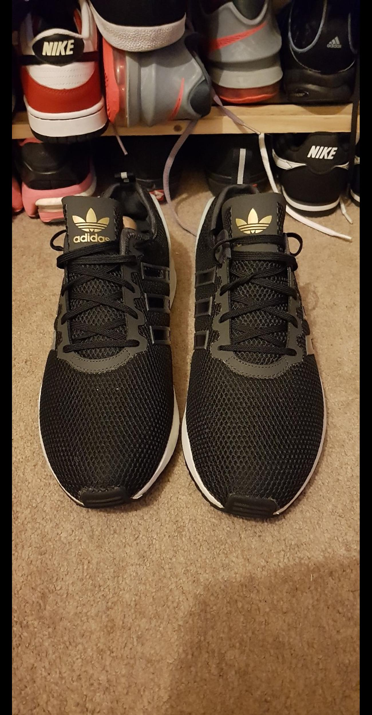 huge discount 4d01a 9e834 Adidas Zx Adv Black Low Sole Size 9.5 in NW4 Barnet for ...