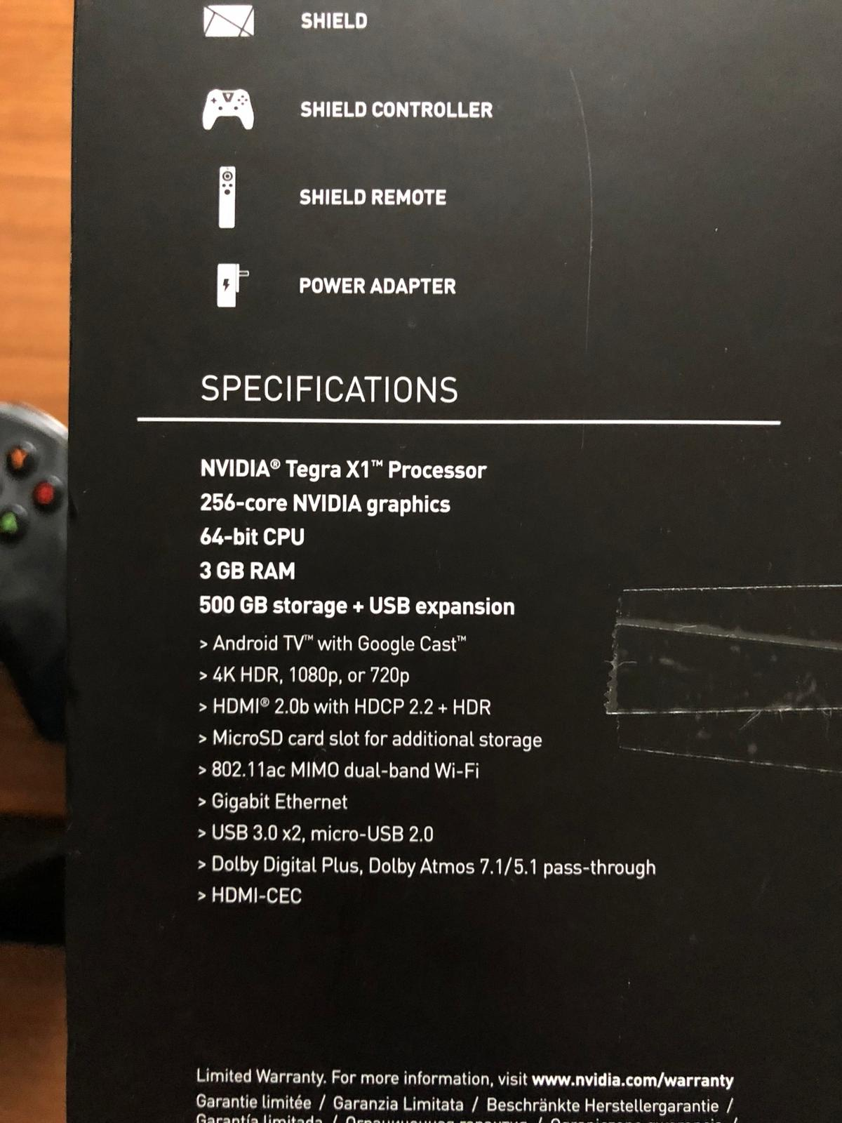 Nvidia Shield TV Pro Media Streaming Player in 4743