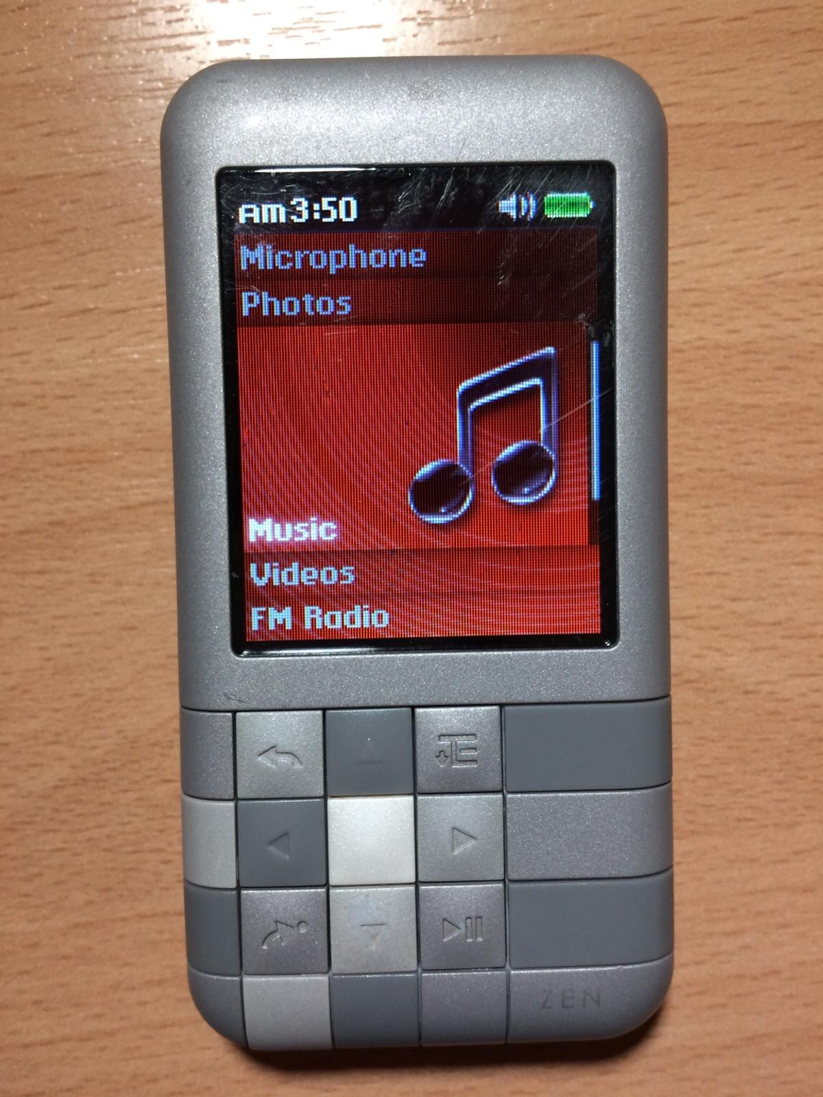 North Zen 4gb Player West Creative Mp3 For Mozaic Leicestershire In F1lK3TcJ