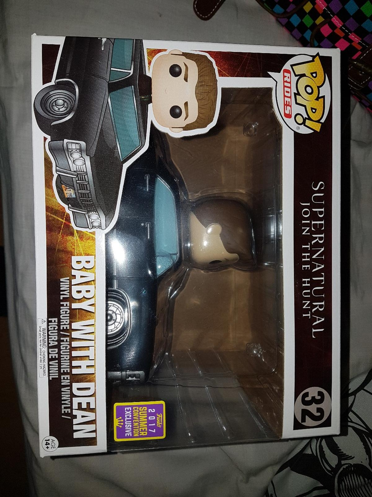 SDCC Supernatural Baby with Dean Funko Pop in North Kesteven