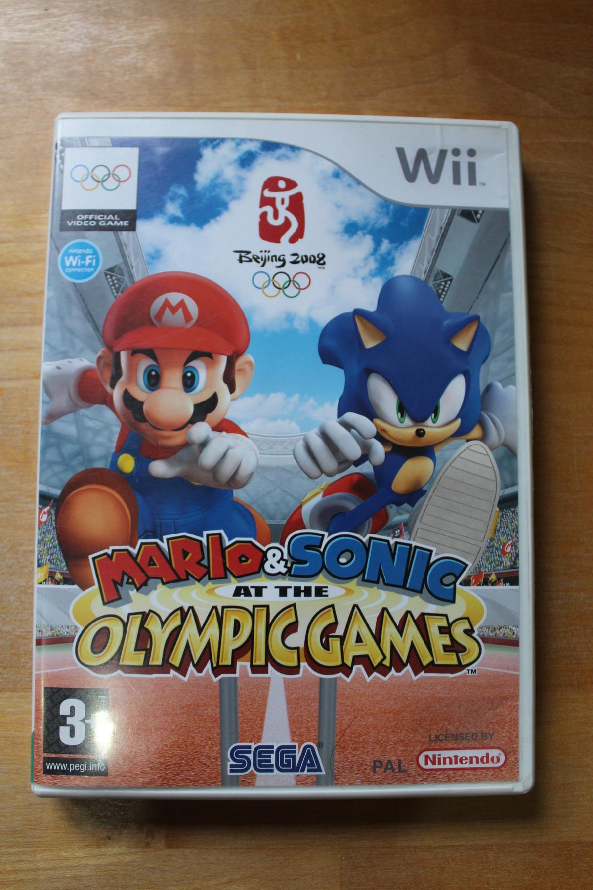 Wii game - Mario & Sonic at the Olympic Games