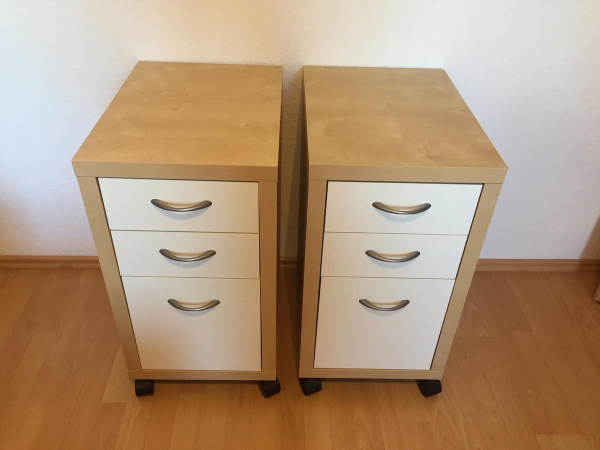 Ikea Rollcontainer Serie Mikael In 67459 Bohl For 30 00 For Sale Shpock