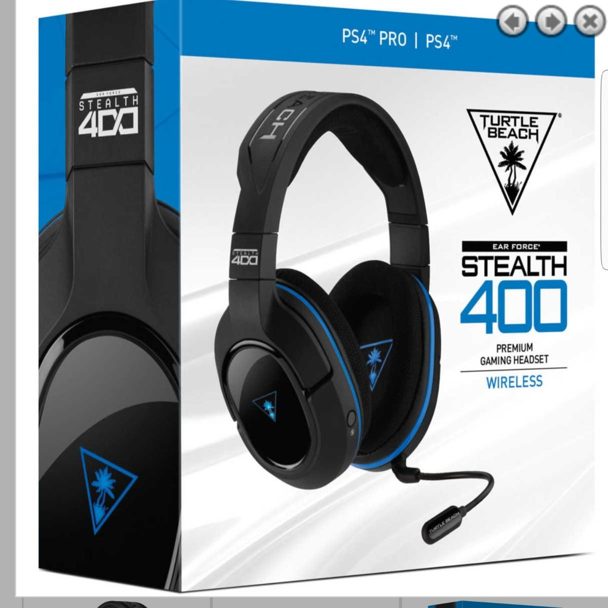 Ps4 Turtlebeach Wireless Stealth 400 Headset In Ts25 Hartlepool For 30 00 For Sale Shpock