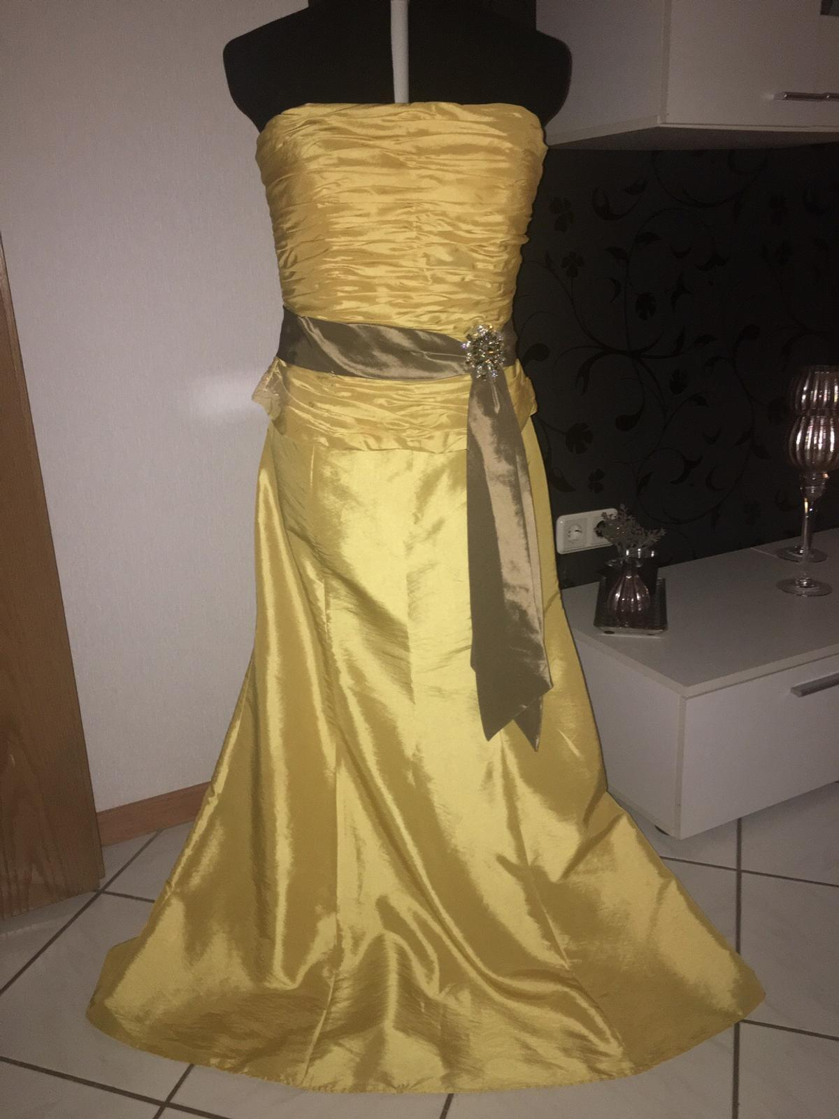 abendkleid gelb in 34466 wolfhagen for €40.00 for sale | shpock