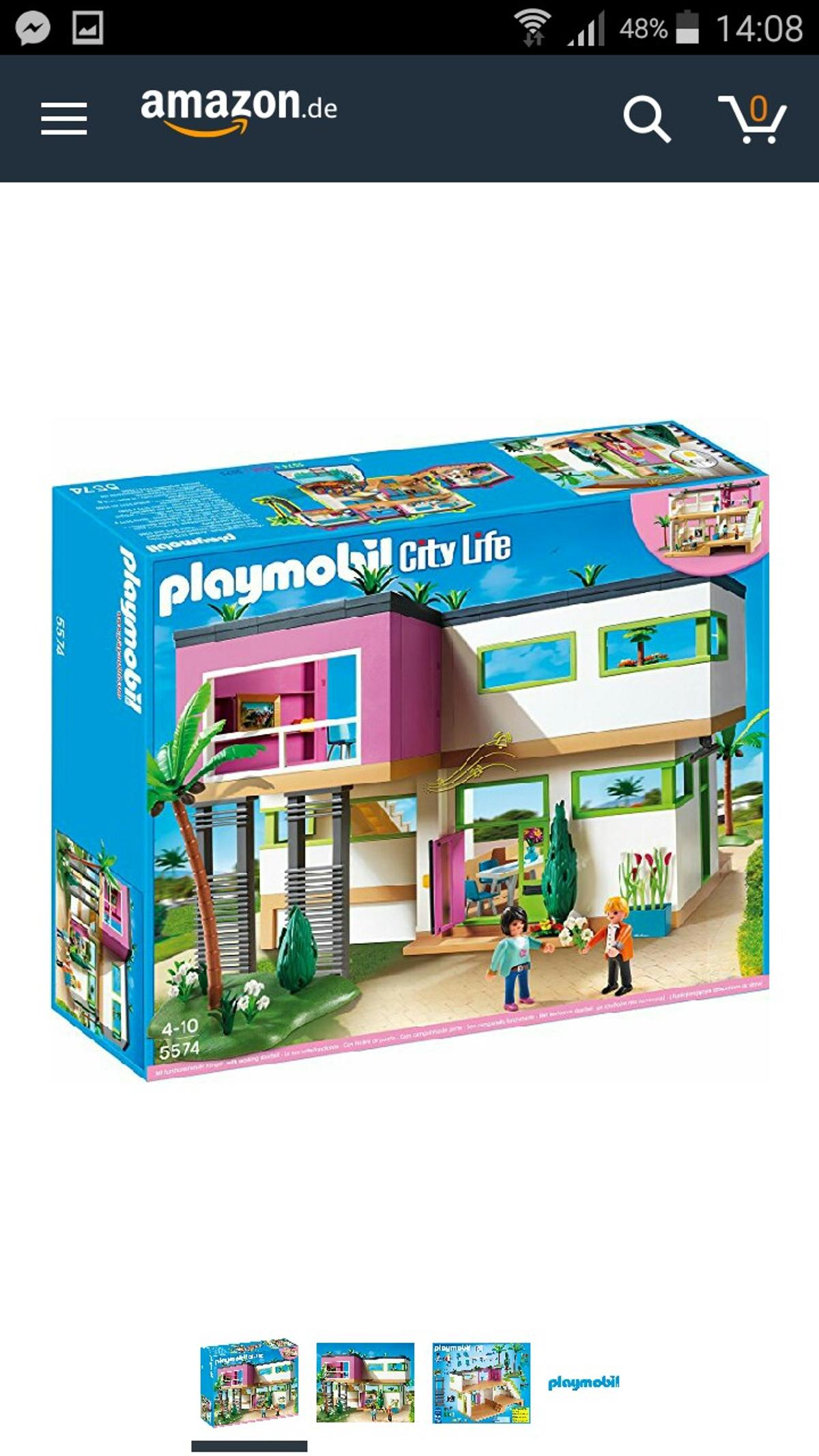 Playmobil Luxusvilla in 3650 Reitern for €130.00 for sale ...
