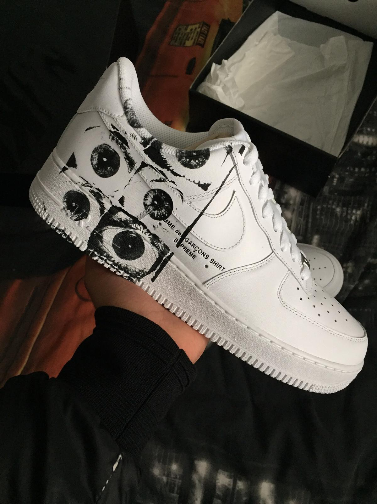 separation shoes 6879e 466c8 Supreme x CDG Air Force 1 brand new uk 9.5