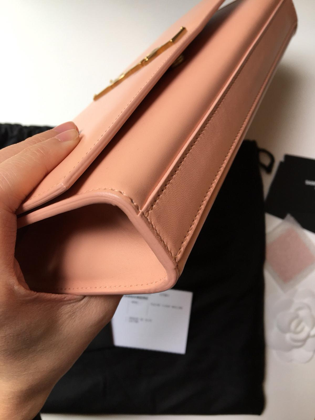 5727d1df Saint Laurent YSL clutch in nude pink powder in E14 Hamlets for ...