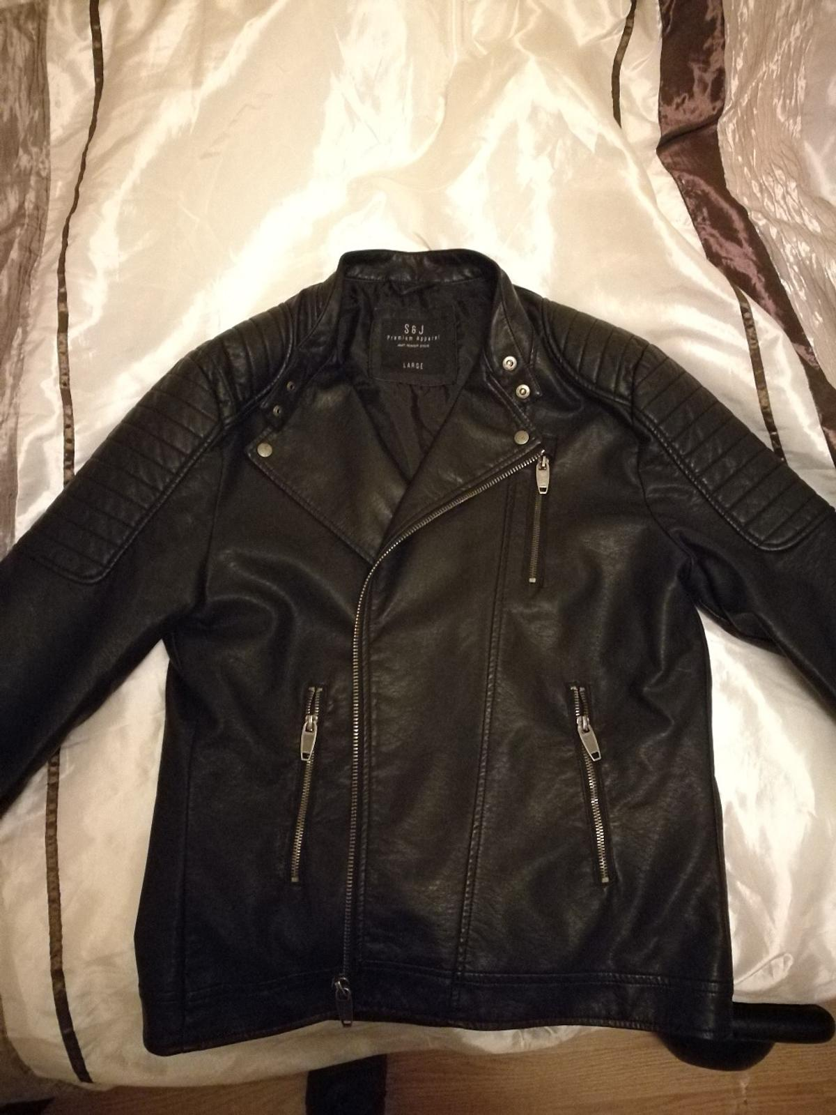 S&J Leather jacket premium apparel in W2 London for £45.00 ...https://www.shpock.com › ... › S&J Leather jacket premium apparel s&j premium apparel
