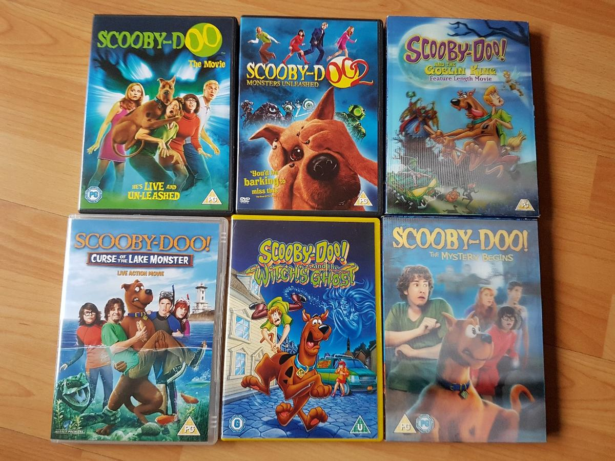 Scooby Doo Dvds In Ng10 Erewash For 6 00 For Sale Shpock