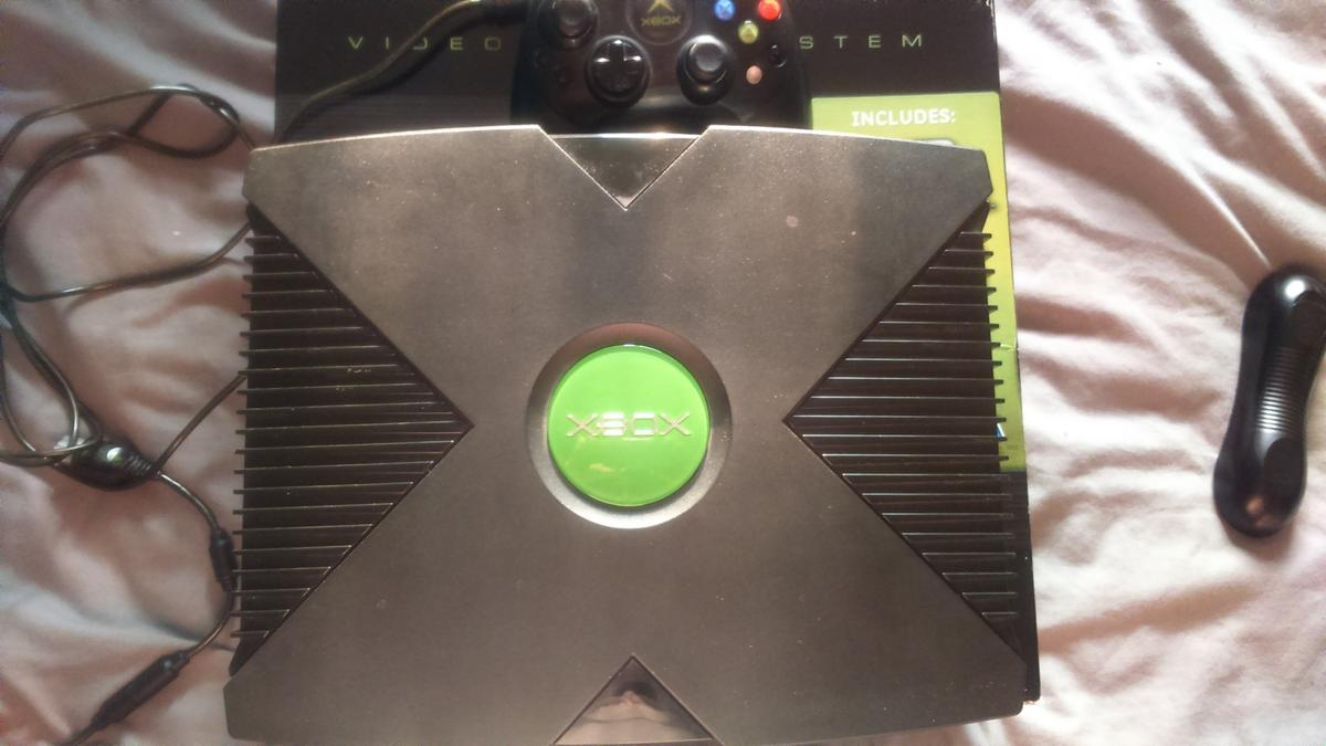 original xbox softmodded 160gb hd coinops 8
