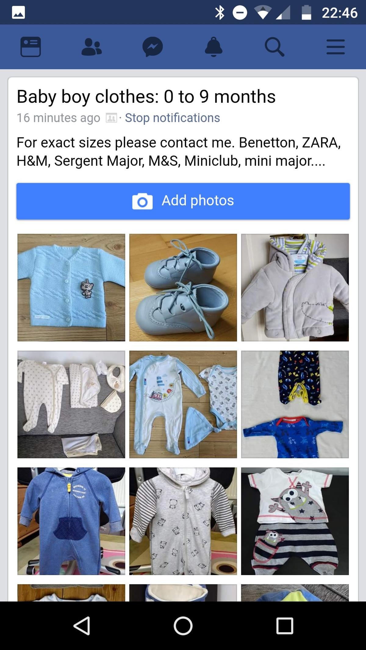 premium selection prevalent durable modeling Baby boy clothes.0-9 months. Benetton, Zara in LE11 ...