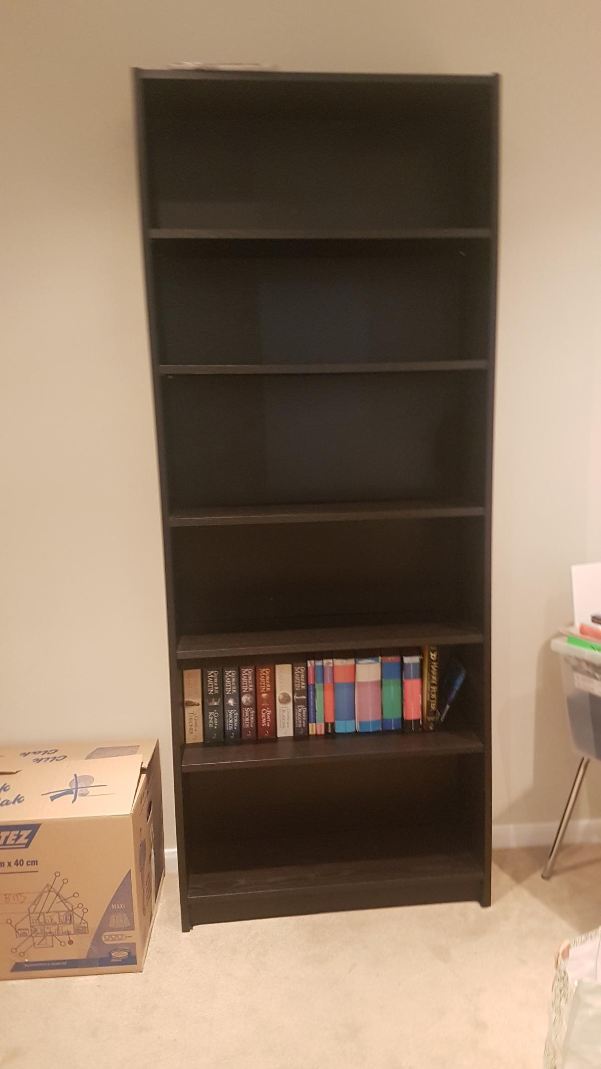Fabulous Ikea Billy Bookcase Black Brown Home Interior And Landscaping Transignezvosmurscom