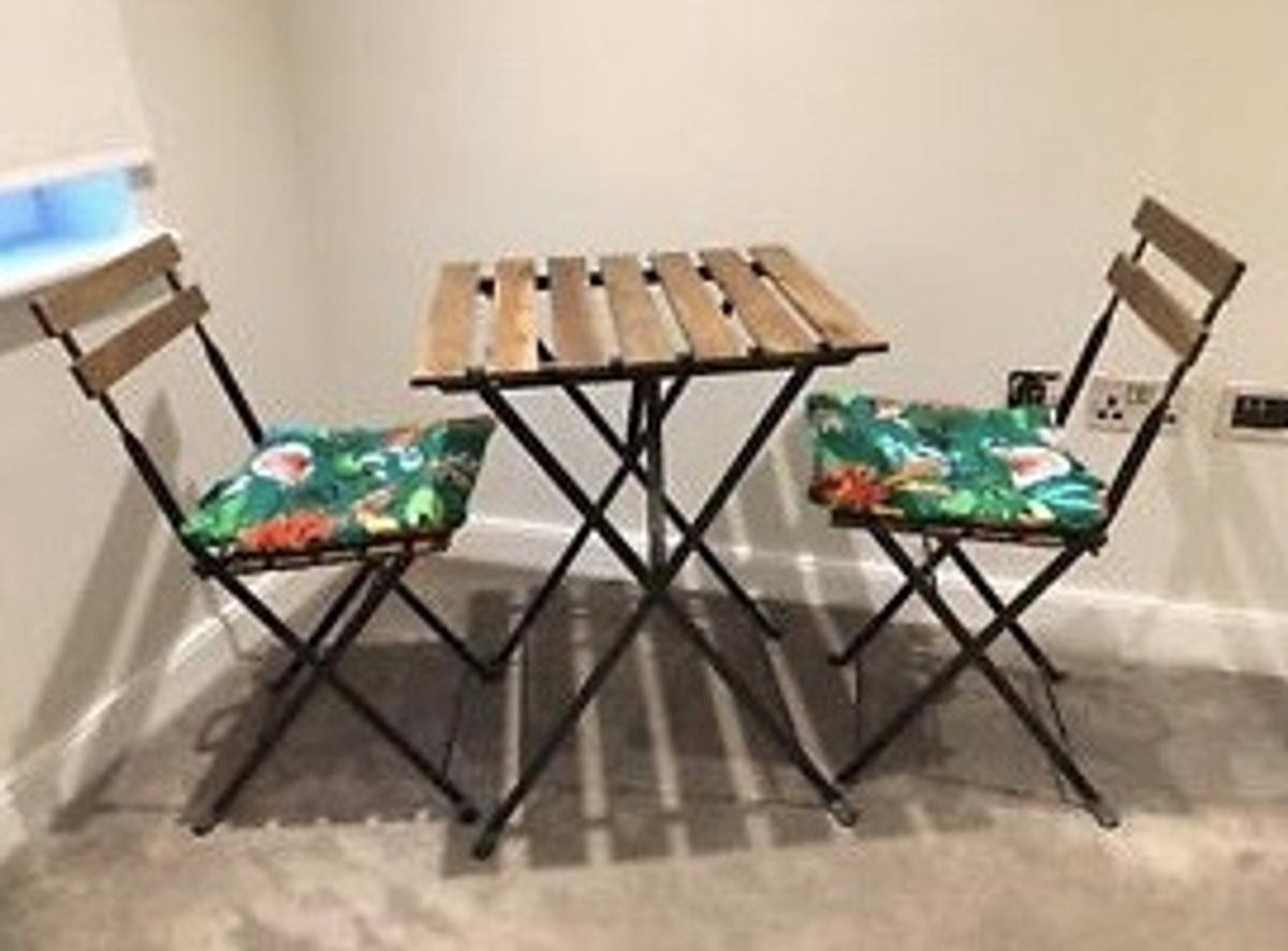 Ikea Tarno Folding Chairs And Table Set In Se16 Southwark For 20 00 For Sale Shpock