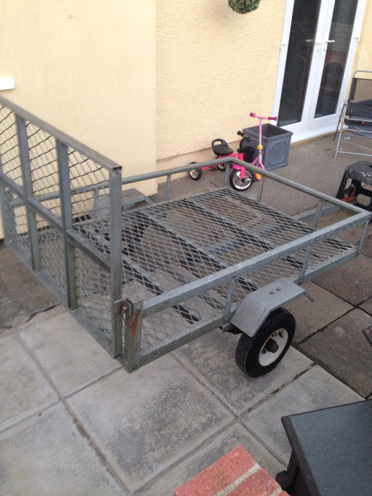 6x4 quad / ride on lawn mower trailer in NP22 Tredegar for £295 00