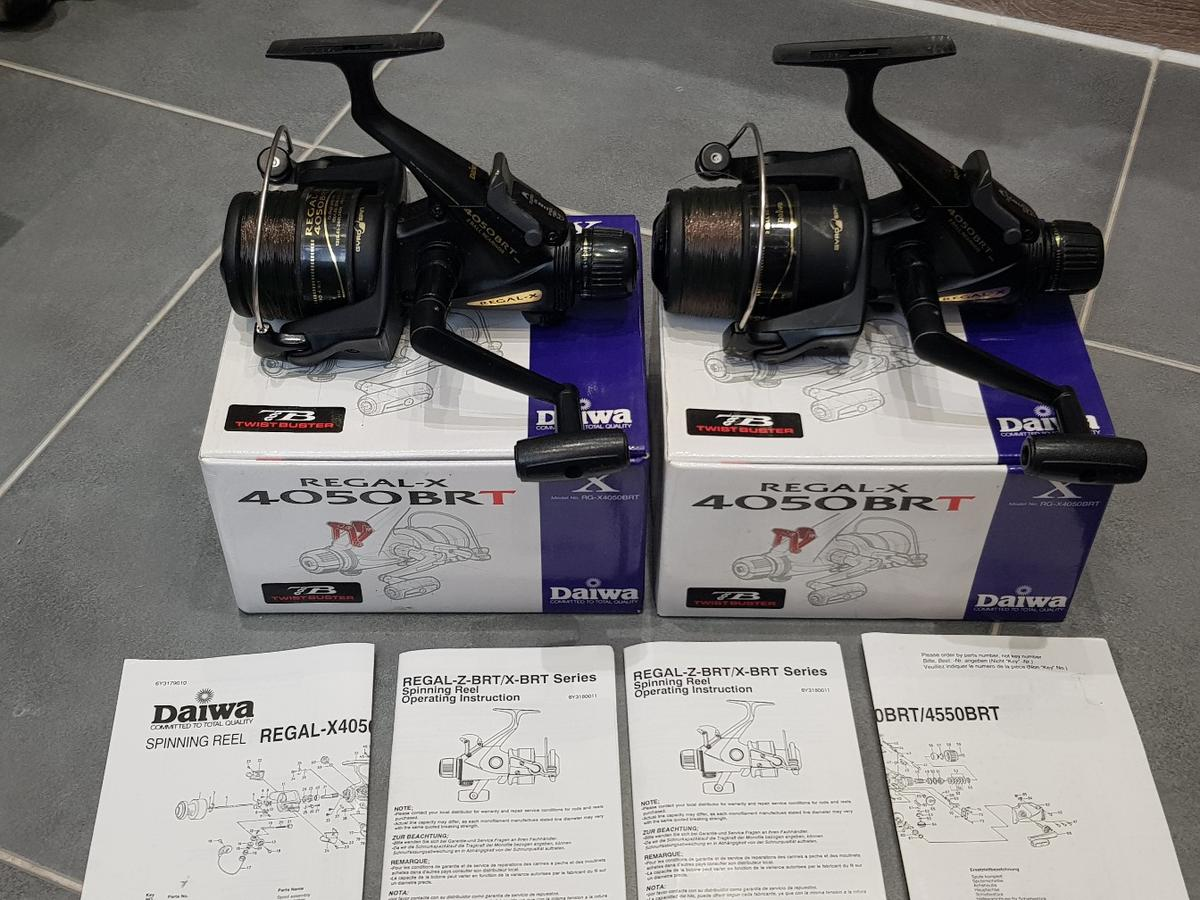 53436e5407a Carp fishing 2 x Daiwa Regal x 4050 reels in SS2-Sea for £55.00 for ...