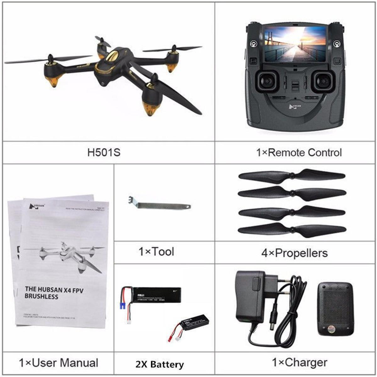 X4 FPV BRUSHLESS H501S DRONE in Northampton for £180 00 for