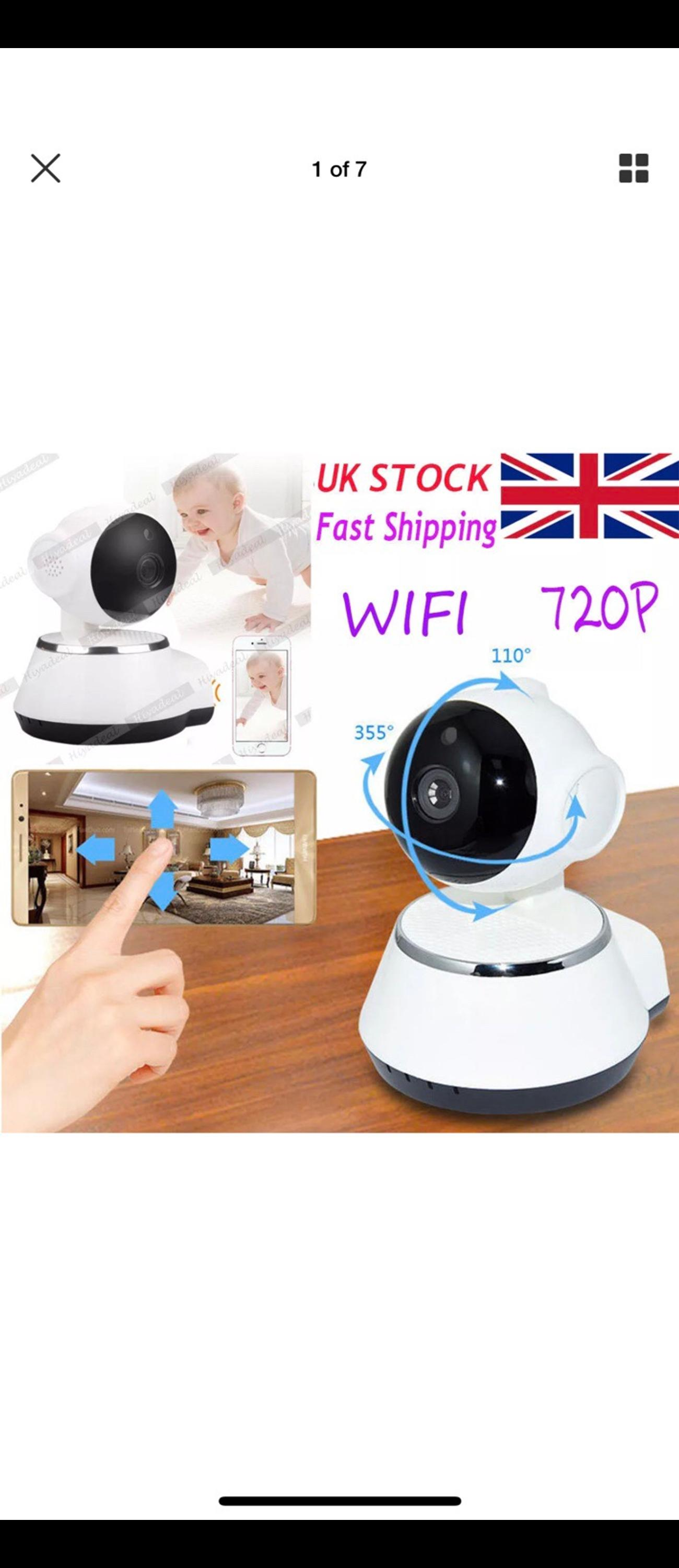 Ip camera 720p app support IOS/ANDROID in LE9 Hinckley and