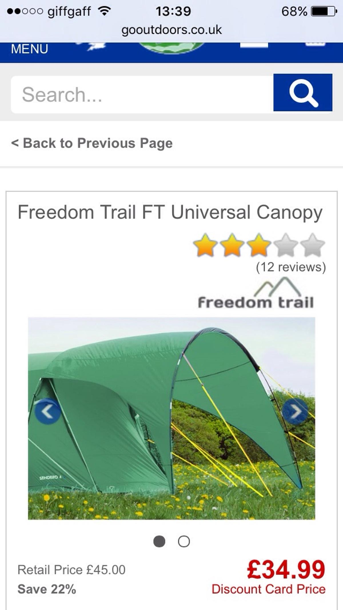 FT Universal Canopy | Freedom trail