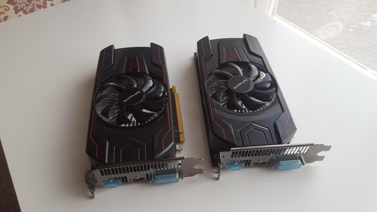 2x RX 560 4gb, Desktop pc Graphics card  in Peterborough for £220 00