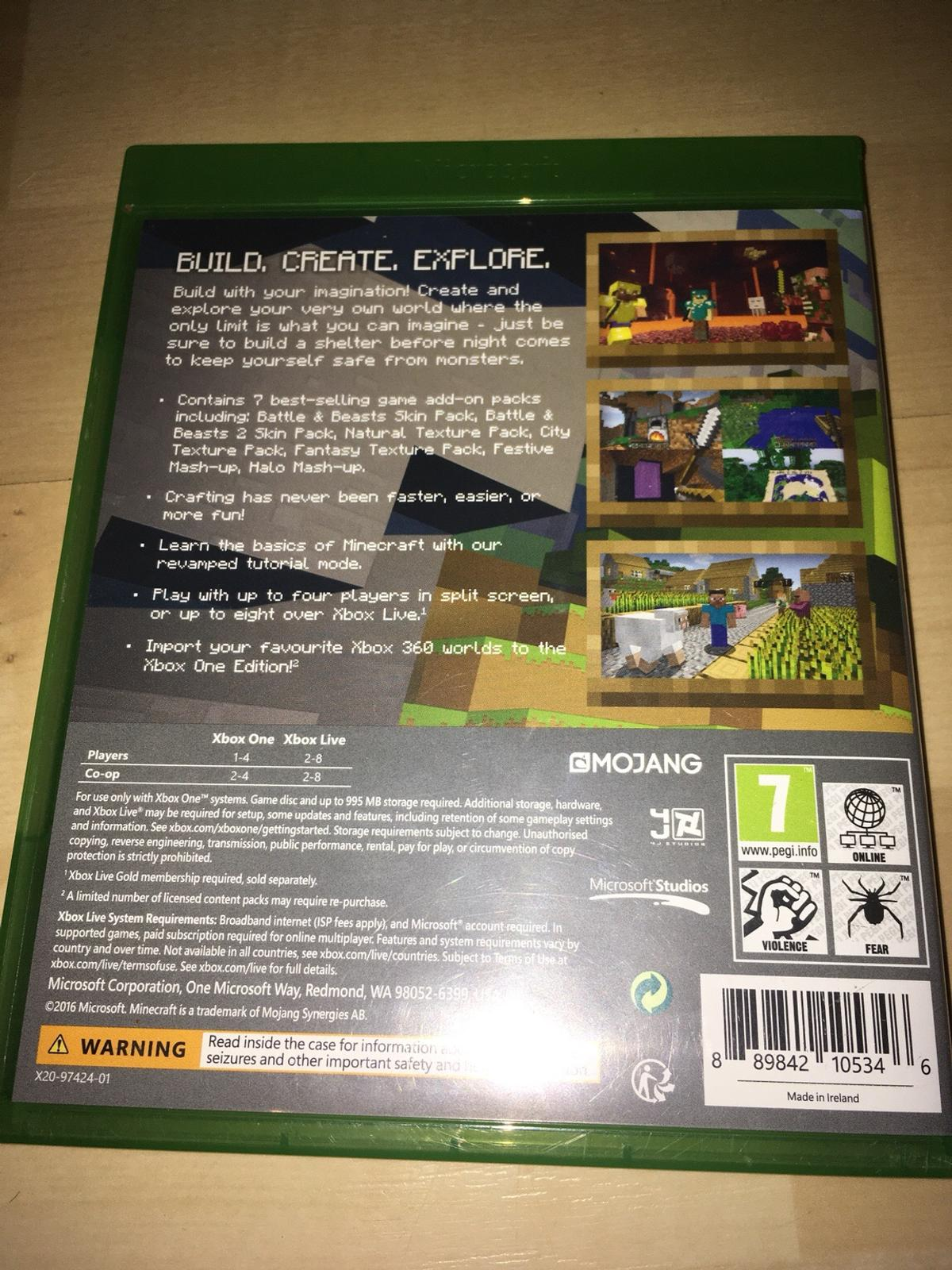 minecraft xbox one skins and texture packs