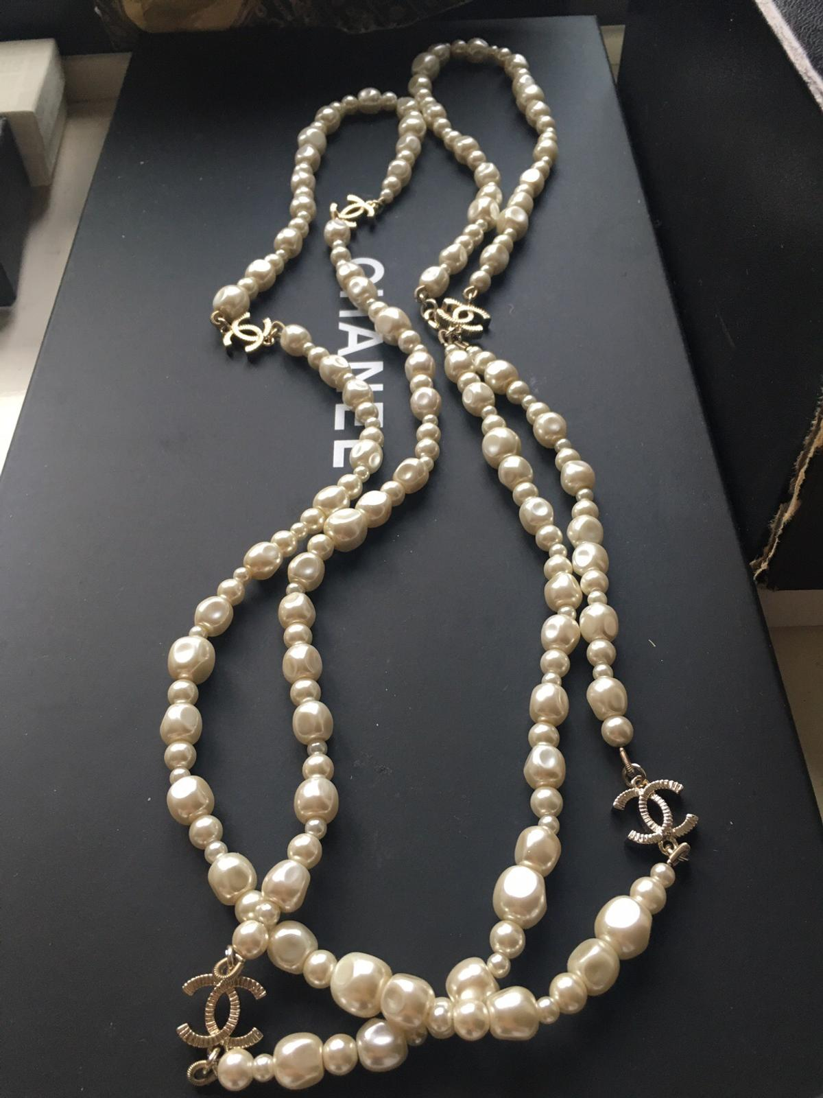 c0537474ef60c Chanel pearl and gold necklace 2015