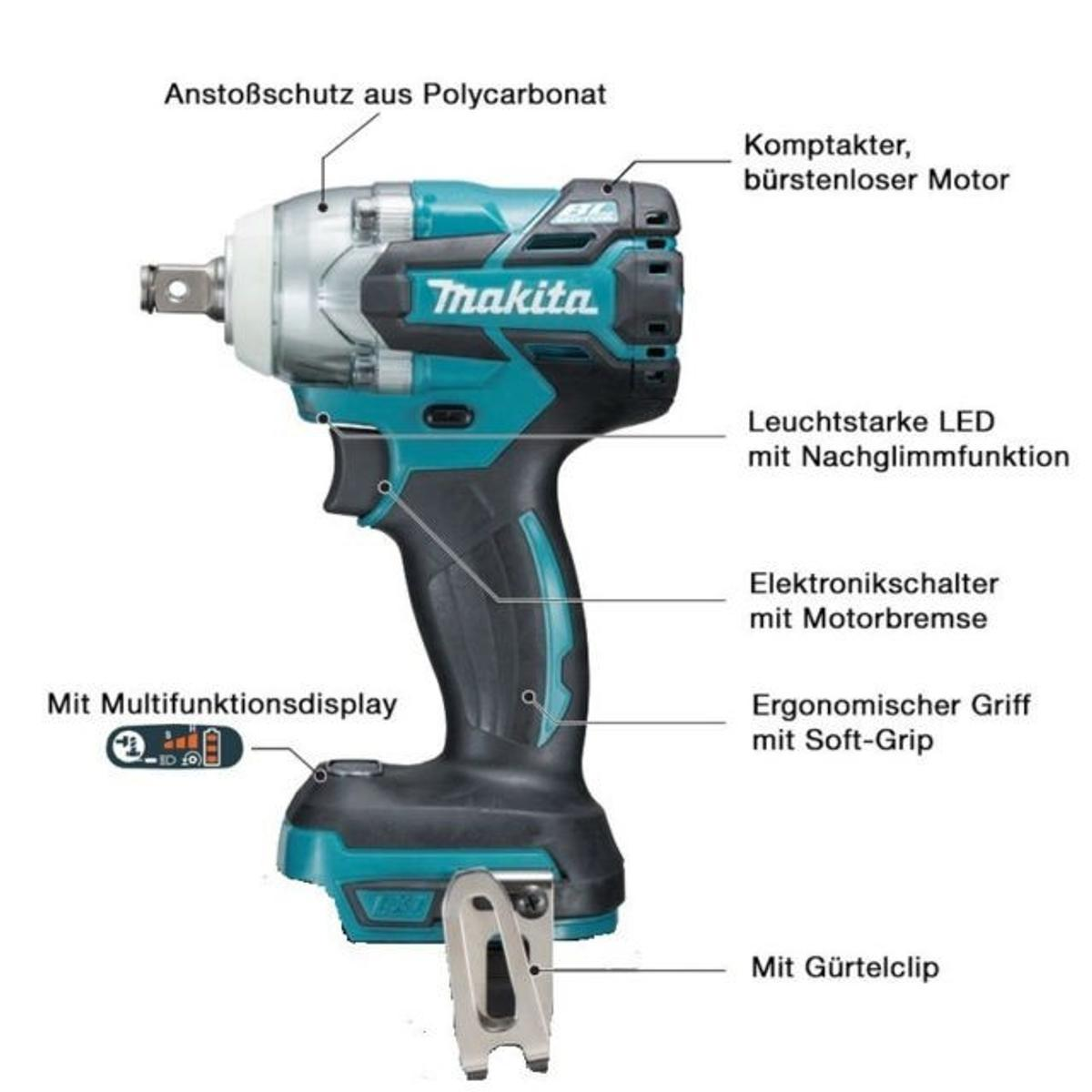 BRAND NEW IN BOX MAKITA IMPACT WRENCH DTW285Z
