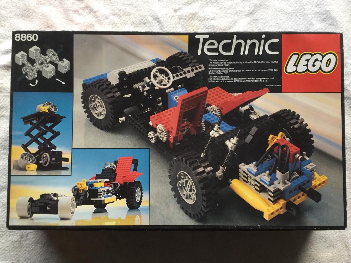 Technic Lego Car Chassis 8860 In Pr6 Chorley For 8000 For Sale