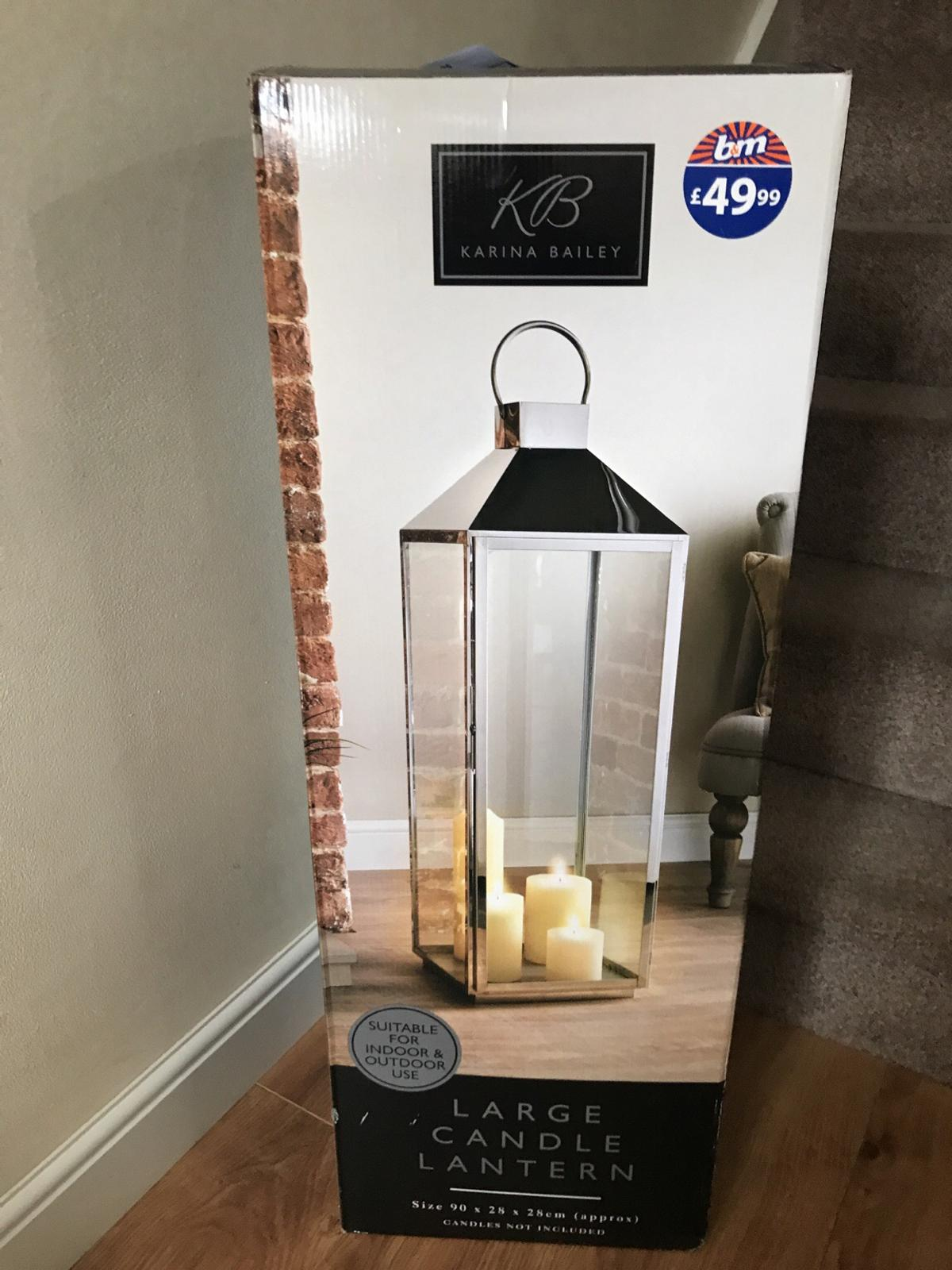 Large Candle Lantern In North