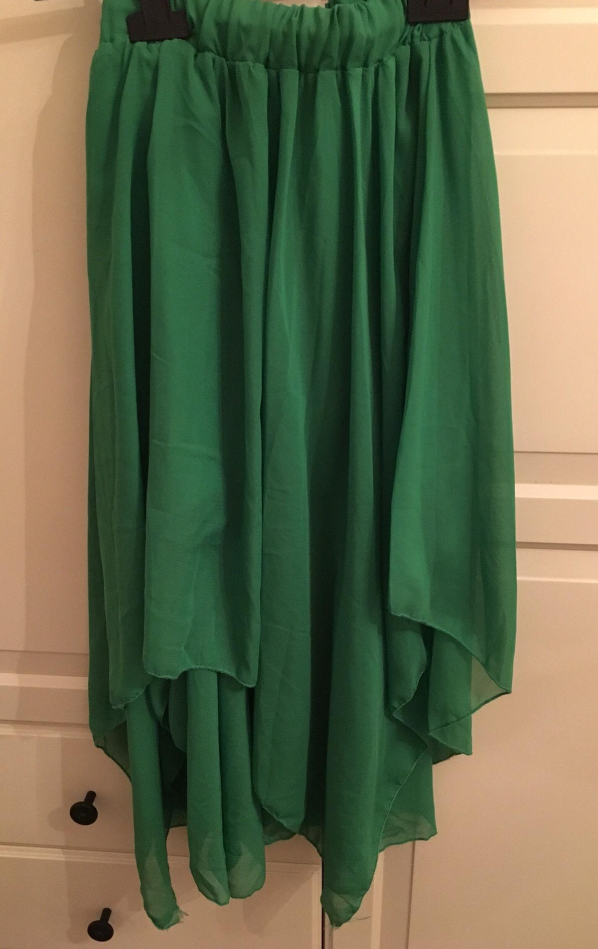 hot sale online a00ad 336a7 Gonna lunga dietro tg 40 verde