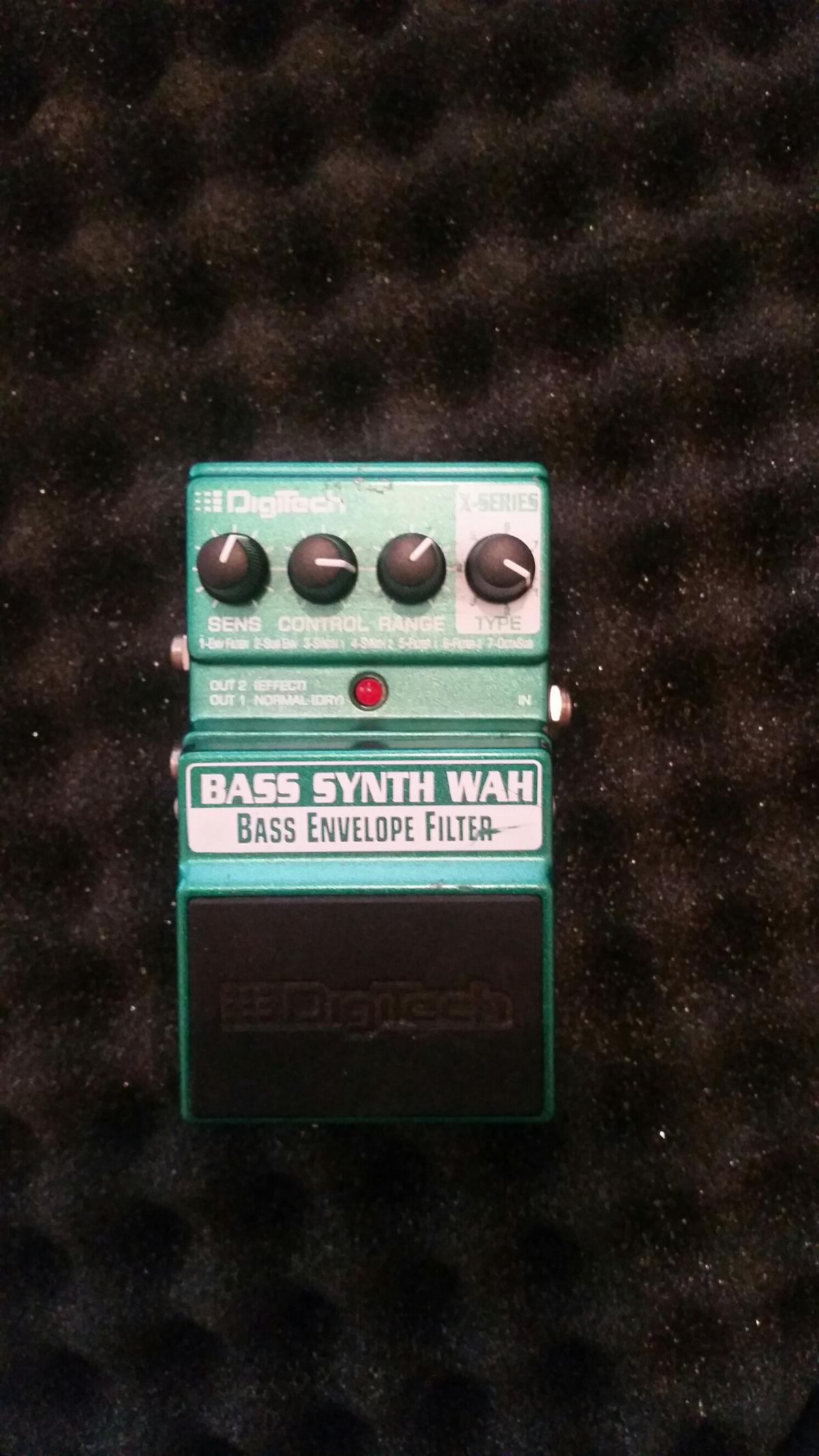 Digitech Bass Synth Wah in WS8 Walsall for £50 00 for sale