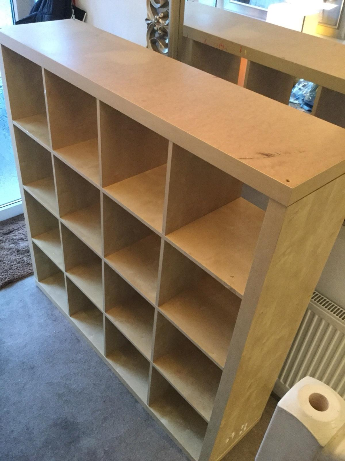 Ikea 16 cube storage unit