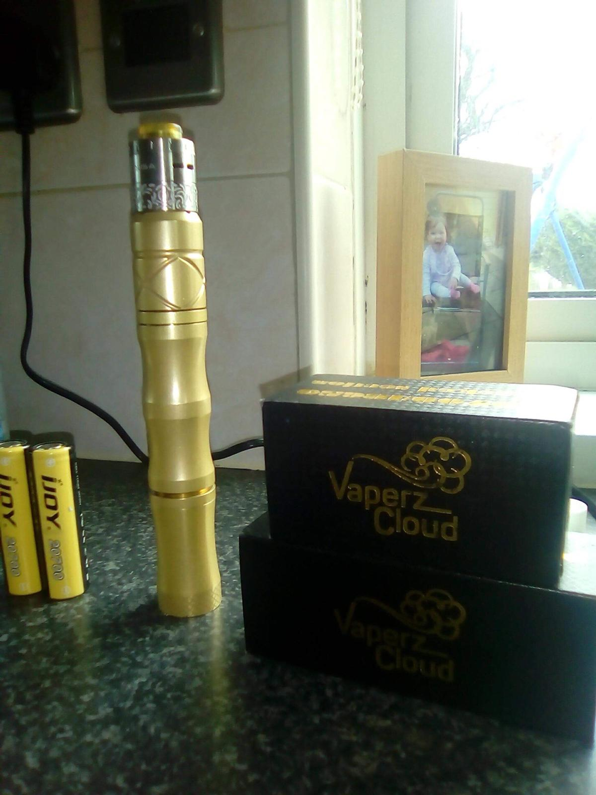 Vaperz cloud XXX mech mid & stack tube in SY5 Cressage for
