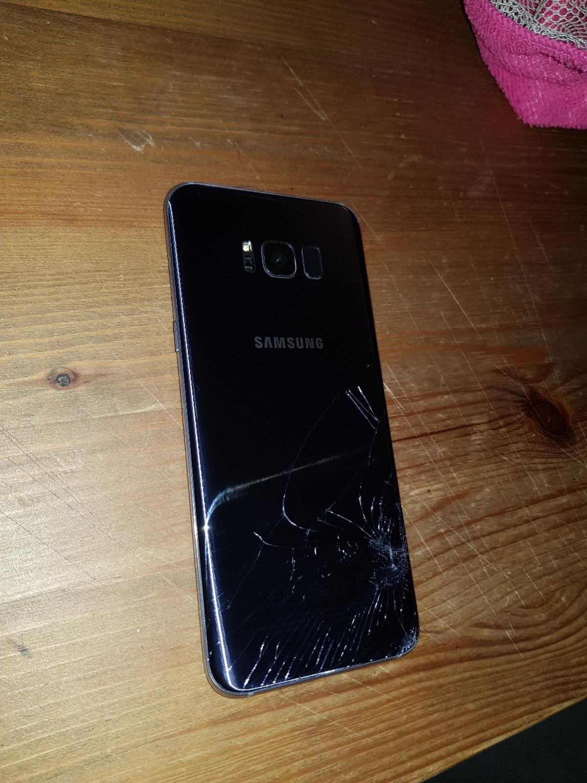Samsung s8 plus 64gb *cracked screen* in LA1 Lancaster for