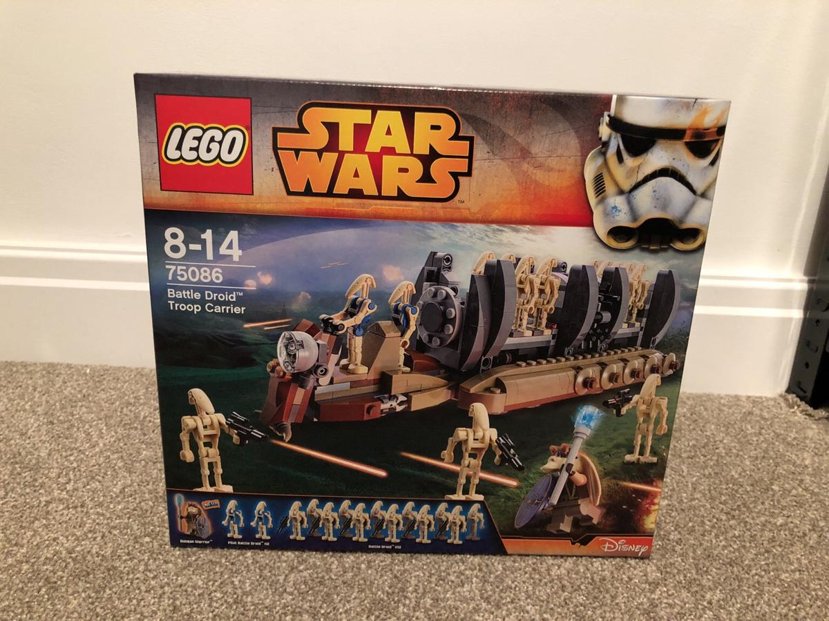 Lego Star Wars Battle Droid Troop Carrier In B37 Solihull For 7500