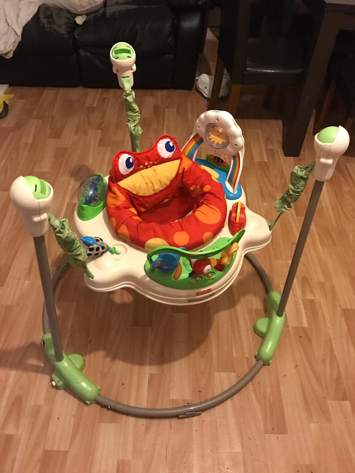 261a0b81f51 Fisher Price RainForest Jumperoo Baby Bouncer in SW15 London for ...