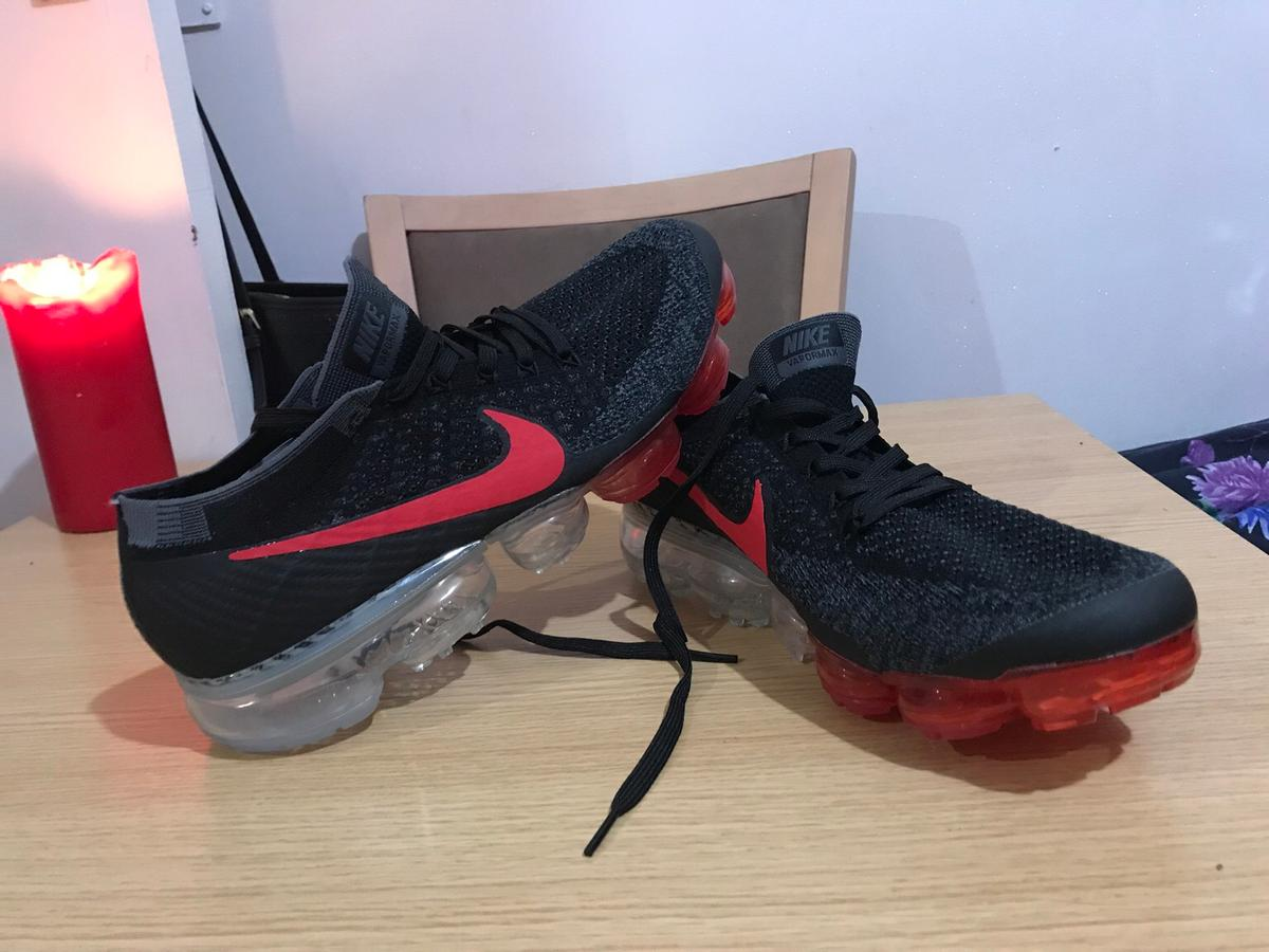 915421f42e15 Nike Air vapormax flyknit Black Dark Team Red in NW10 Brent for ...