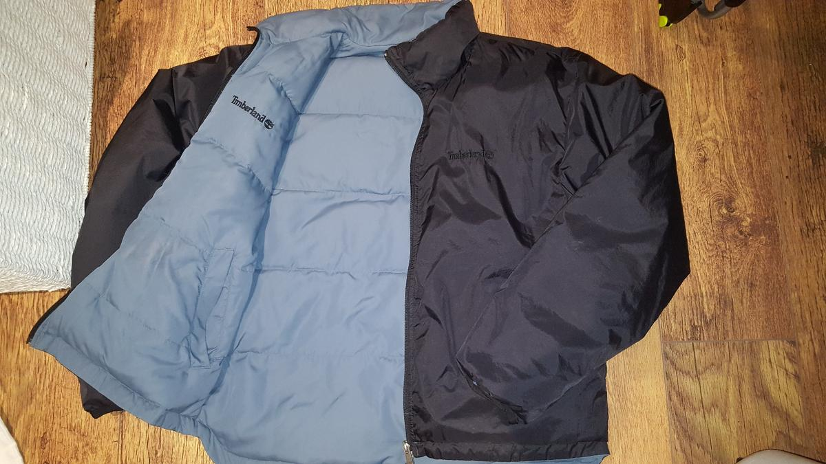 96bfe7a32 MENS TIMBERLAND REVERSIBLE JACKET SIZE M in TW13 Hounslow for £20.00 ...