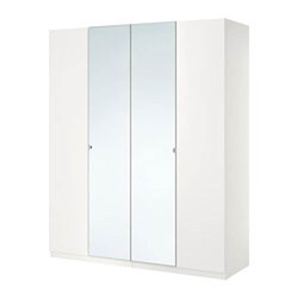 IKEA Pax wardrobe Vikedal mirror doors in for £40 00 for