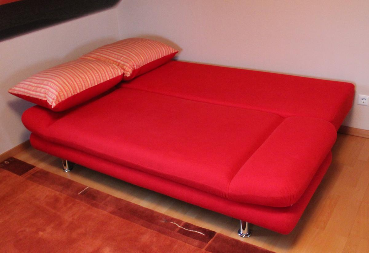 Couch Schlafcouch Sofa Schlafsofa Rot In 47877 Willich For 90 00